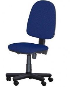 Silla de oficina COM50-AZ tejido A20 azul