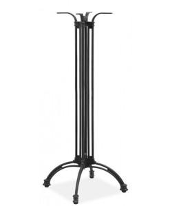 Base de mesa EIFFEL, alta, fundición, negra, altura 108 cms