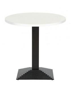 Mesa ELBA, negra, tapa de 60 cms. Color a elegir