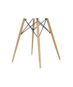Base de mesa TOWER, madera de haya