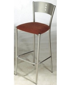Taburete BOLIA, color a elegir, asiento tapizado.