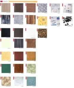 Tablero de mesa Werzalit serie Grupo 1 de 70x70 cms.