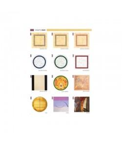 Tablero de mesa Werzalit serie Duo de 80 cms. de diámetro