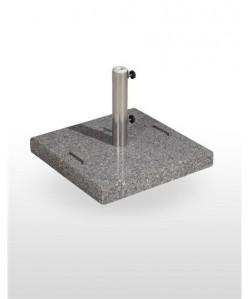 Base de parasol, 65 kg, de peso, granito.