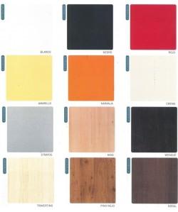 Carta de colores de werzalit ESTANDAR para marca PR-1