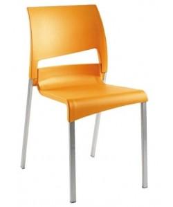 Silla 0651755, asiento y respaldo de poliuretano
