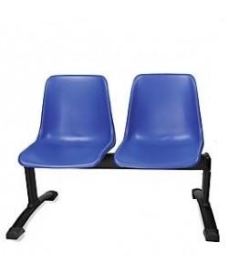 Bancada CARCASA, 2 asientos, carcasa polipropileno (3 colores a elegir)
