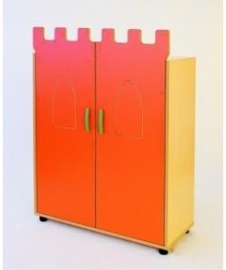 Armario CASTILLO,con 3 huecos, 90x40x128 cm