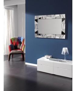 Espejo JEAN de pared, cristal, 120x77 cms