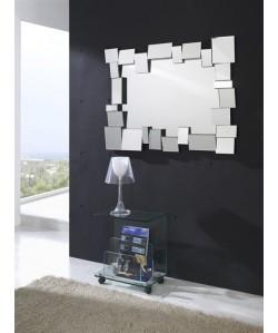 Espejo SIDNEY de pared, crista, 118x88 cms