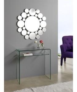 Espejo ALICE de pared, cristal, 80x80 cms