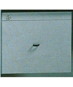 Cajonera 1 cajón de archivo, con cerradura. Color a elegir.