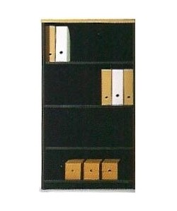 Armario medio de estantes regulables, 90x43x140 cms. Color a elegir.