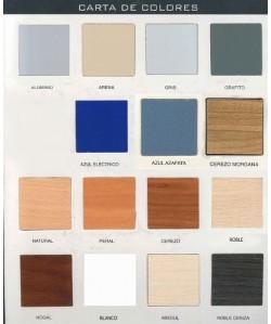 Carta de colores de madera bilaminada para marca PR-35