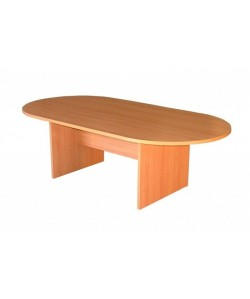 Mesa de juntas oval 240x120 cms. Color a elegir