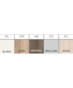 Carta colores de madera bilaminada -serie Color- para marca PR- 49