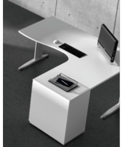 Mesa forma 160x120 cms, -derecha o izquierda-. Color a elegir.