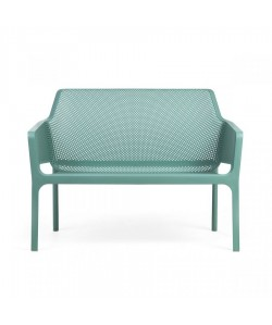 Sofá Net Bench, apilable, polipropileno, 6 colores a elegir.