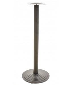 Base de mesa EBRO, alta, negra, 43*110 cms