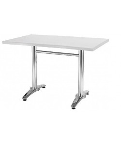 Mesa ROMA, aluminio, tapa 120 x 80 cms. Color a elegir