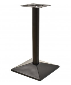 Base de mesa SOHO, negra, 40*40*72 cms