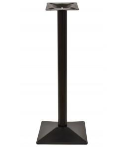 Base de mesa SOHO, alta, negra, 40*40*110 cms