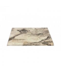 Tablero de mesa Werzalit-Sm, MARBLE ALMERIA 209, 70 x 70 cms*