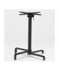Base de mesa BAHIA, abatible, aluminio fundido, negra.