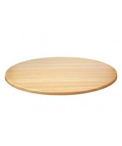 Tablero de mesa Werzalit Alemania, HAYA 19, 70 cms de diámetro*.