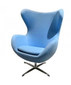 Sillón EG SH046, tapizado cachemira azul 46