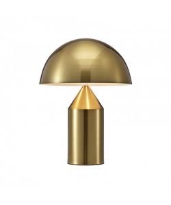 Lámpara MACAO, sobremesa, metal, dorada