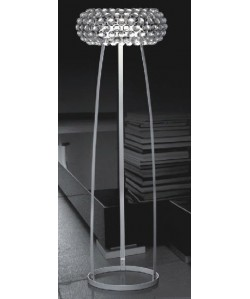 Lámpara ITALICA, pie salón, diseño, acrilica