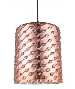 Lámpara SENDA, colgante, cristal cobre
