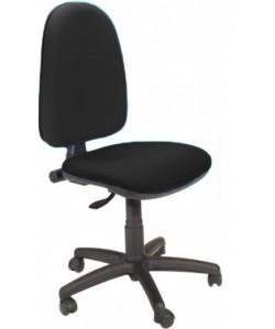 Silla de oficina PRE50, tejido A1 negro