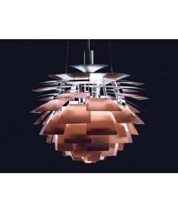 Lámpara ARTIC, aluminio, cobre, 70 cms. de diámetro